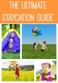 If you're planning a staycation, you won't want to miss this ultimate staycation guide for your summer! We compiled all the best ideas, tips and resources to help you plan the best staycation for you and your family.