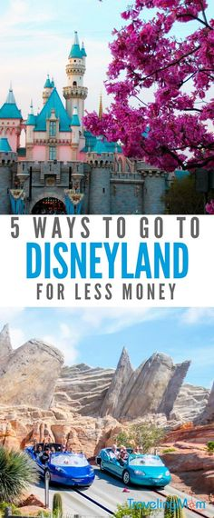 These Disneyland for cheap tips will save you lots of money on your vacation. Save money on Disney and family travel with these secret tips. #Disneyland #Disney #california