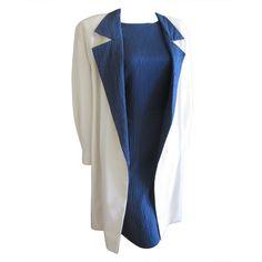 1stdibs | Galanos silk dress and coat