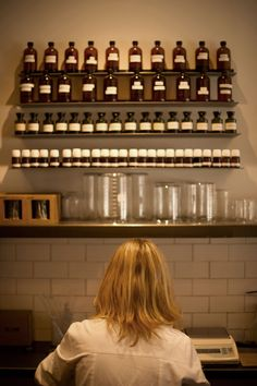 Le Labo. I love this place. Coming back this week to get a new bottle.