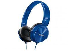 Headphone/Fone de Ouvido Philips - SHL3060 Azul