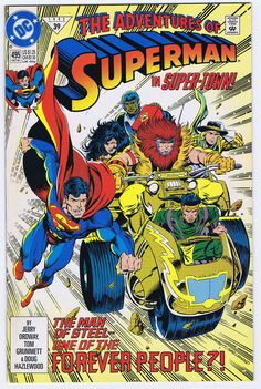 from $5.0 - Adventures Of Superman #495 - Oct 1992 - Jerry Ordway - Nm/m - Dc #Comics