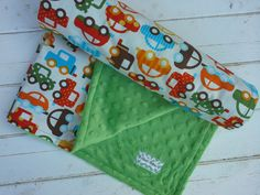minky baby blanket-baby blanket-personalized boys by sweetflutters