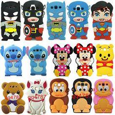 Disney Cartoon 3D Animals Silicone Case Cover for Samsung Galaxy S3 III i9300