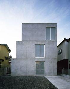 Takao Shiotsuka Atelier - Threefold house