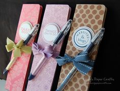 Cool home made paper notebooks - with video tutorial
