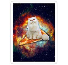 sticker.  Where's my Pizza by Nelaka3