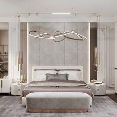 Modern Luxury Bedroom, Modern Bedroom Design, Home Design Decor, Home Room Design, Dream Home Design, Luxurious Bedrooms, Home Interior Design, Master Bedroom Plans, Modern Master Bedroom