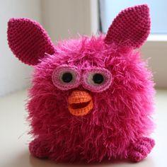 Gratis haakpatroon grote Flurby Dochterlief wilde heel graag een Furby. Nu vonden wij die toch wel een beetje prijzig en daarnaast...