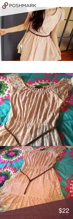 Lace dress Looks close to the cover picture but a little different. No flaws. Only worn once. Dresses High Low