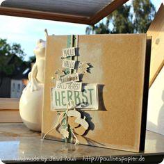 Stampin'Up! Minialbum Herbst