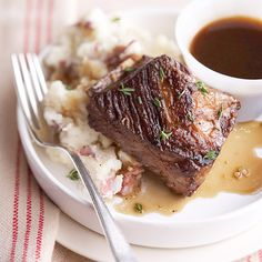 A classic winter dish! Our Beer-Braised Short Ribs are simply delicious. More slow-cooker beef recipes: http://www.bhg.com/recipes/slow-cooker/beef/slow-cooker-beef-recipes/?socsrc=bhgpin110112beerbraisedribs#page=5
