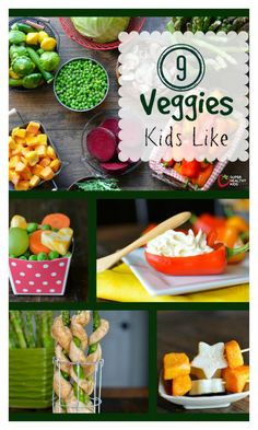 FOOD - 9 Vegetables Kids Like That Might Surprise You - I never thought my kids would eat asparagus until they tried it like this! http://www.superhealthykids.com/9-vegetables-kids-like-that-might-surprise-you/