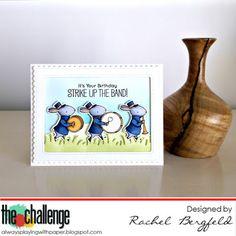 MFT Strike Up The Band Card By RBergfeld Designs