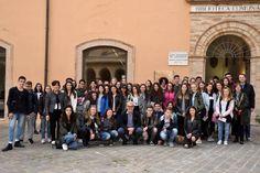 Europa e scambi culturali studenti di Weiden a Macerata