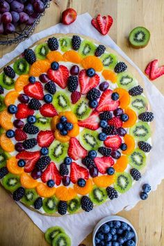 Chicago Style Fruit Pizza - The Food Charlatan