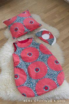Child bib, toddler pillow, and child sleep sack. African Babies, African Children, African Inspired Clothing, African Print Fashion, African Prints, Toddler Pillow, African Accessories, African Design, African Wear