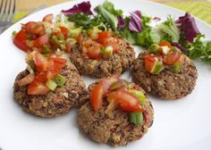 Healthy Vegan Kidney Bean and Walnut Burgers - https://detox-foods.co.uk/healthy-vegan-kidney-bean-and-walnut-burgers/