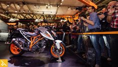 The 2017 KTM 1290 Super Duke R Has Arrived   The 2017 KTM 1290 Super Duke R Has Arrived  At last months Cologne show KTM put the spotlight on its Adventure models. But in Milan KTM is all about street art. The focus in Italy is on the road going Duke line-up in an effort to show their wares head to head with the other European naked street fighters breaking cover in Milan this week.  The DUKE brand is how KTM really hit the street 22 years ago and for model year 2017 this sub-brand really…