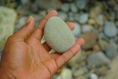 Practice the attitude of gratitude by carrying around a Gratitude Stone...RAK: paint a gratitude stone