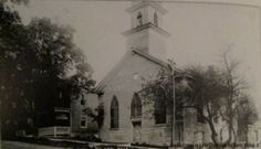 Former Methodist-Episcopal Church in Essex, NY. Known as Old Stone Church.