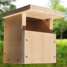 how to build a squirrel house out of wood - Google Search