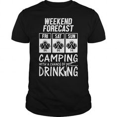 Awesome Tee Camping  T shirts