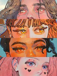 Pretty Art, Cute Art, Art Plastique, Character Design Inspiration, Aesthetic Art, Art Tutorials, Art Inspo, Amazing Art, Art Reference