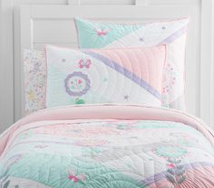 Alexia Quilted Bedding   Pottery Barn Kids