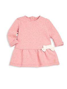 Petit Bateau - Baby s Long Sleeve Bow Dress c18d5755835