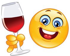 Share your glass with cute emoticons.