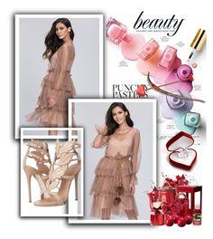 """& Beauty &"" by selmamehic ❤ liked on Polyvore featuring Giuseppe Zanotti"