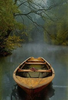 """julesfalkhunter: The Old Lake by Carlos Casamayor One of these days I'm going to be rowing an old boat across the lake … Stunningly beautiful image . heartbeatoz: """"The Old Lake"""" Fine Art Print by Carlos Casamayor - RedBubble Beautiful Places, Beautiful Pictures, Simply Beautiful, Trees Beautiful, Peaceful Places, Jolie Photo, Nelson Mandela, New Beginnings, The Great Outdoors"""