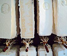 Handmade embossed paper, bookmarks, lamps and more at Cartavenezia, Calle lunga 2125, Santa Croce