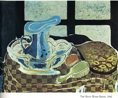 GEORGES BRAQUE The Blue Washbasin (1942)