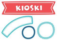 Free printable pattern | lasten | lapset | askartelu | syntymäpäivät | kioski | tulostettava | paperi | koti | leikki | DIY ideas | kids | children | crafts | home | paper | cardboard | Pikku Kakkonen