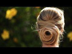 Rose Bun Tutorial | Hair Style Ideas | Beauty How To - YouTube