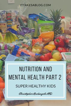 Check out our review of @healthykids. Nutrition is truly essential for your mental health, and this program gives you the tools to feed your family nutritious food every day! @chrisarchangeli @karchangeli