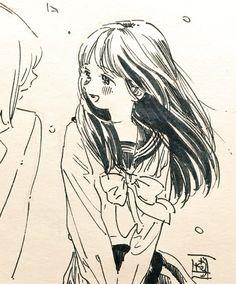 博(@siiteiebahiro) 님 | 트위터의 미디어 트윗 Anime Drawings Sketches, Anime Sketch, Manga Drawing, Manga Art, Art Drawings, Character Art, Character Design, Art Reference Poses, Animes Wallpapers