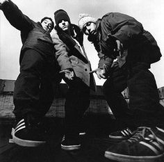 This week the greatest band in the world ever is...: Beastie Boys