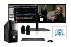 SUPER PC | Two Monitor Computer and Dual SAMSUNG LED Monitor Display Array | Intel Core i5 | 16GB DDR3 | 480MB SSD | Windows 8.1 Pro | Complete System Package! SUPER PC | http://www.amazon.com/dp/B00MOIRNWO/ref=cm_sw_r_pi_dp_lUIcub05HFFBQ