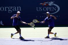 US Open, entraînement