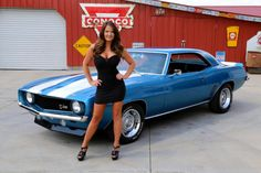 Awesome Awesome 1969 Chevrolet Camaro 1969 Chevrolet Camaro 302 Muncie Four Speed 12 Bolt Rear PS PDB 2017 2018 Chevy Camaro Z28, Chevrolet Impala, Trucks And Girls, Car Girls, Cool Car Pictures, Girly Car, Chevy Girl, Chevy Muscle Cars, Chevy Trucks