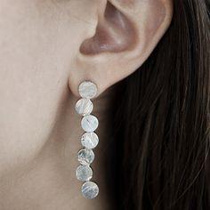 sterling earrings from http://kajsjewelry.com $180