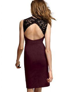 Ponte abierto de nuevo vestido - Victoria 's Secret