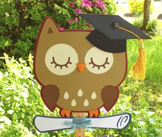 Cricut Cartridges Used: Create a Critter, Happy Graduation, Recess