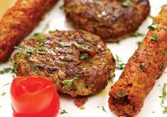 Shikampuri Kababs recipe. A festive dish from Hyderabad, Shikampuri Kebab is an aromatic kebab made of yellow gram, meat and yogurt. Posted by Nazia Nazar.