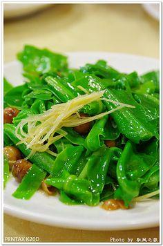 nest fern stir fry | Taiwanese Cuisine