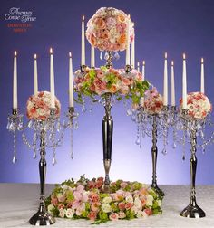 Themes Come True- Wedding Flower Ideas- Get inspired by these wedding flower ideas! I like the downtown abby one!!!! Fits my whole vintage, garden wedding theme..