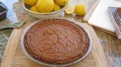 Paleo Sweet Potato Pie with Almond & Pecan Crust